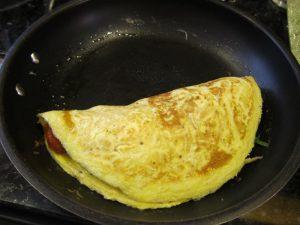 Cómo perder la grasa del vientre inferior con la tortilla de 3 huevos