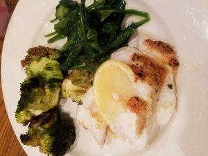 Como perder a gordura do ventre inferior usando peixe com brócolos